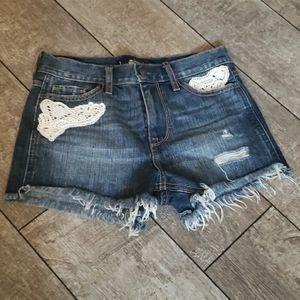 Hollister Denim Shorts 536